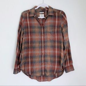 AmericanEagle BoyfriendFit Super Soft Fall Flannel